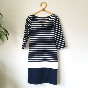 The Limited striped dresss